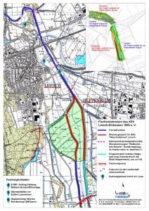 ASV Lorsch-Einhausen Gewässerkarte Teil Ost 12_2014